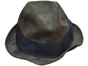 Fedora hat renovation before