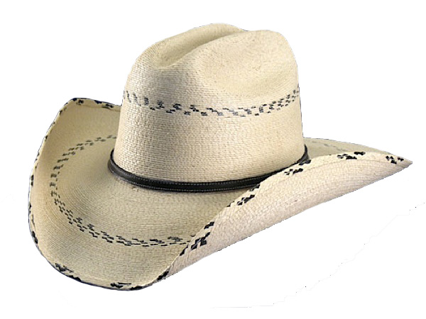 Atwood Kenny Palm Straw Cowboy Hat - Straw Cowboy Hats - Aztex Hat ... 579cda497192
