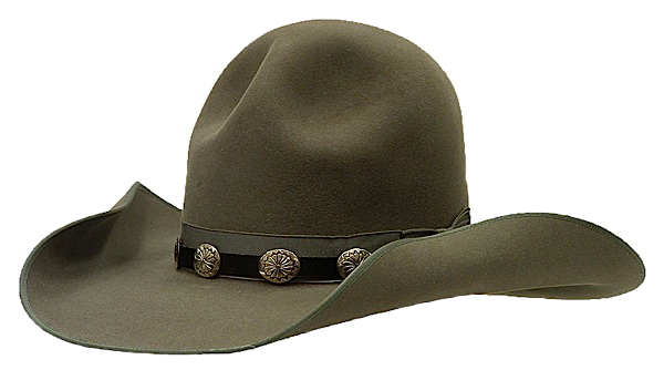 Campaign Hat - All Custom Old West Style Cowboy Hats - Aztex Hat Company fe77ea20d1f