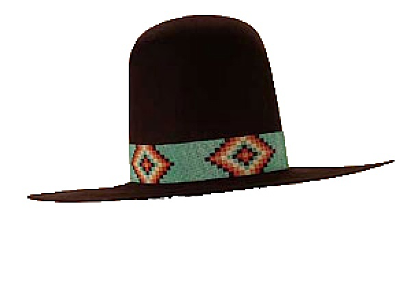 c9ed0e88e71bc AzTex Hats Geronimo Old West Style
