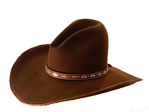65b8eb85 AzTex Hats Fancy Quigley Western Felt Hat - All Custom Special ...
