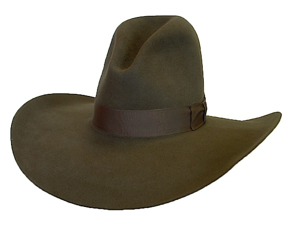 Quigley Hat - All Custom Old West Style Cowboy Hats - Aztex Hat Company ab5dbd80c59