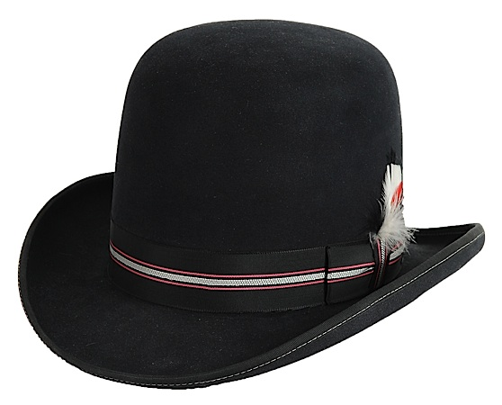 6820ca6c2a2 AzTex Hats Western Derby 1800 s Felt Hat - All Custom Old West Style ...