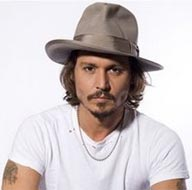 Johnny Depp Contemporary Hat