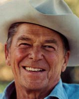 Ronald Reagan Cowboy Hat