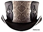 Head n Home Caliber Leather Top Hat 2X