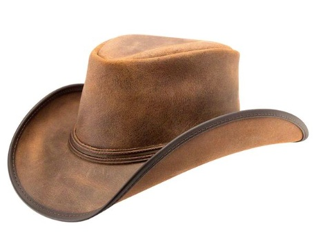 fa08a9ae647 Head n Home Reno Leather Western Hat - Leather Western Hats - Aztex ...