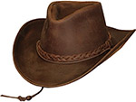 Leather Western Hats