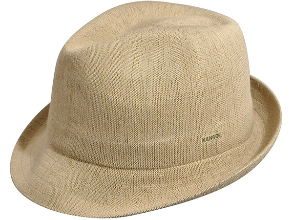 Kangol Bamboo Arnold Trilby Fedora Hat - Kangol Mens Spring and ... 9e9d2261e2f