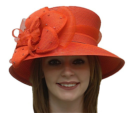 9ac119d7896 Treasure Ladies Spring Church Hat - Red and Purple Hats - Aztex Hat ...