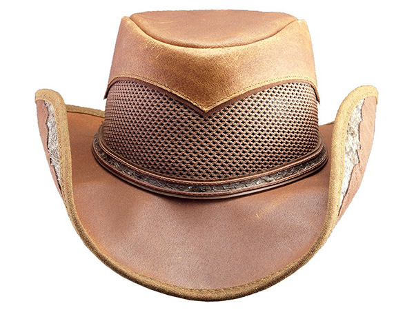 Head n Home Durban Leather Western Hat - Leather Western Hats - Aztex Hat  Company 1fc93a63859