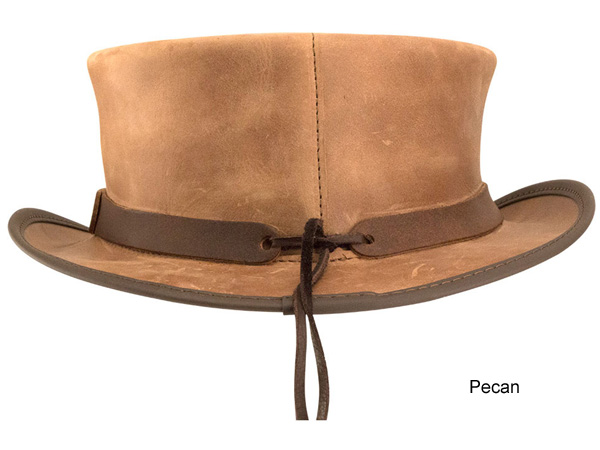 Head n Home Marlow Leather Top Hat - 2X-3X Hats - Aztex Hat Company 6a7e6fed0caa