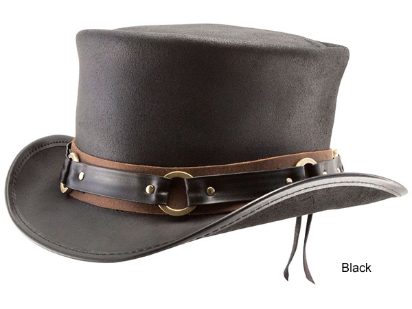 n home leather top hat sr2 band