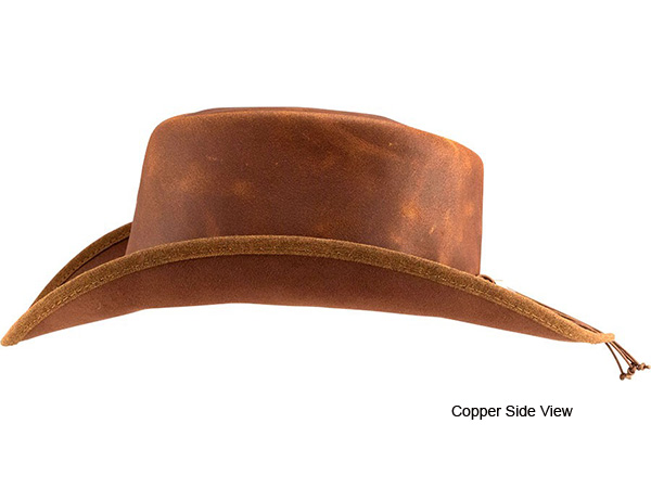 030a912256f Head n Home Reno Leather Western Hat - Leather Western Hats - Aztex Hat  Company