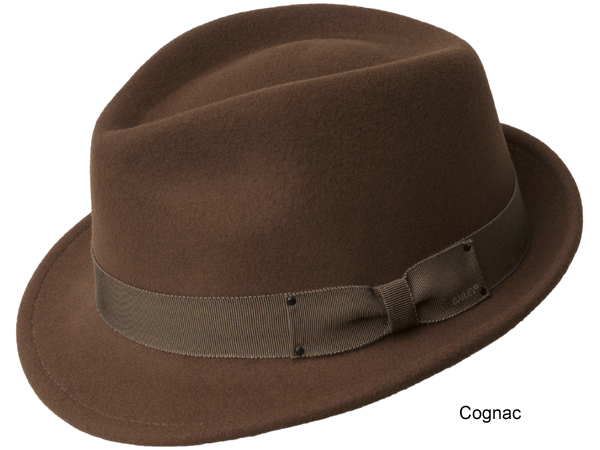 Bailey Wynn Low Crown Fedora Hat - Bailey Fall and Winter Hats - Aztex Hat  Company f8c6e397505