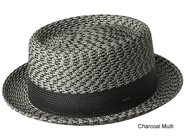 159c02500d0 Bailey Telemannes Poly Braid Straw Pork Pie Hat - Bailey Spring and Summer  Hats - Aztex Hat Company