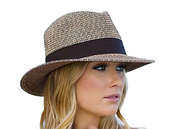 Josie Ladies Summer Fedora - Wallaroo Hats - Aztex Hat Company c17bb8121f4