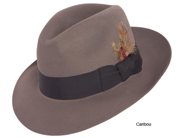 Stetson Pinnacle Beaver Felt Fedora Hat - Fur Felt Fedora Hats - Aztex Hat  Company 789e5dec913