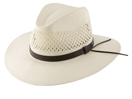 Stetson Digger Vented Straw Cowboy Hat - Straw and Cloth Hats ... 8adee41ed30